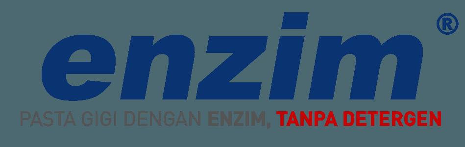 Logo enzim pasta gigi dengan enzim tanpa detergen berwarna