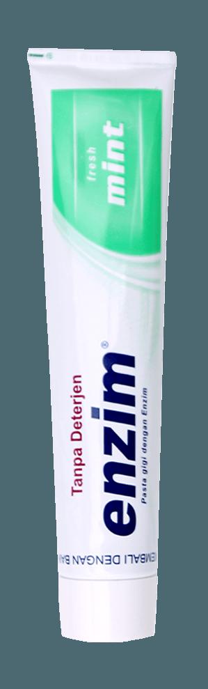 Produk pasta gigi enzim fresh mint