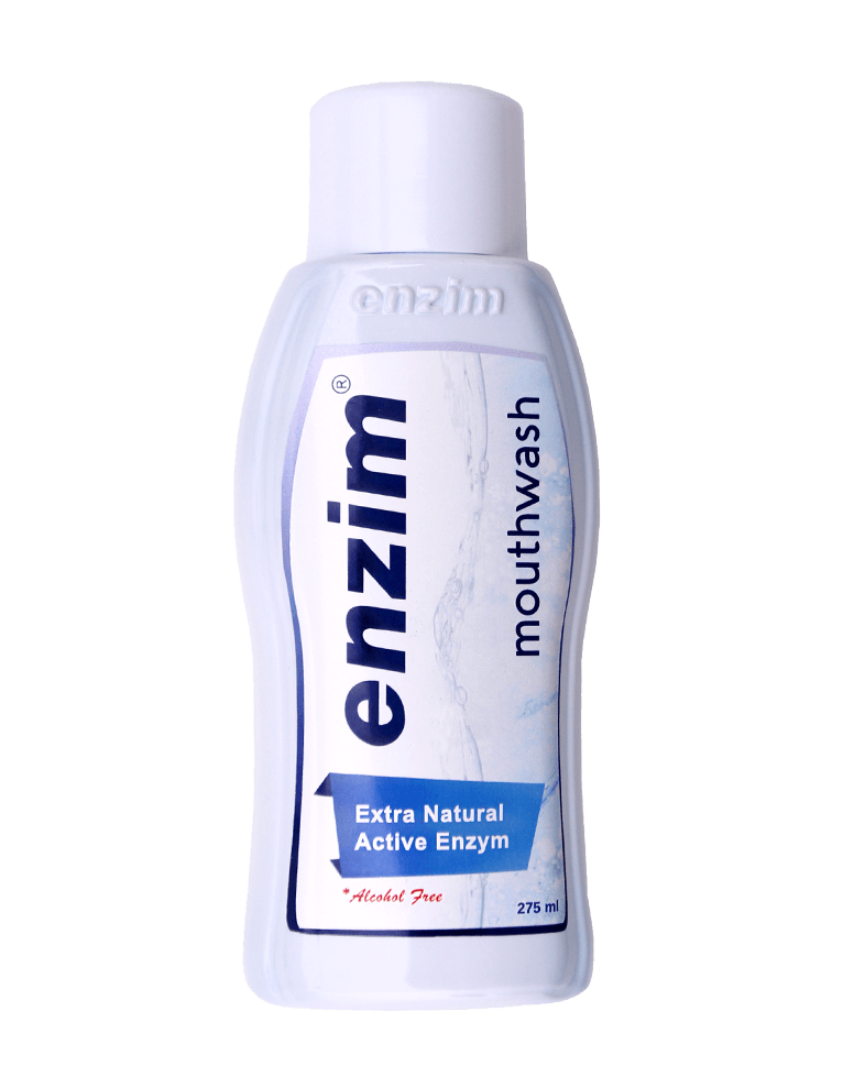 Enzim mouthwash extra natural active enzym