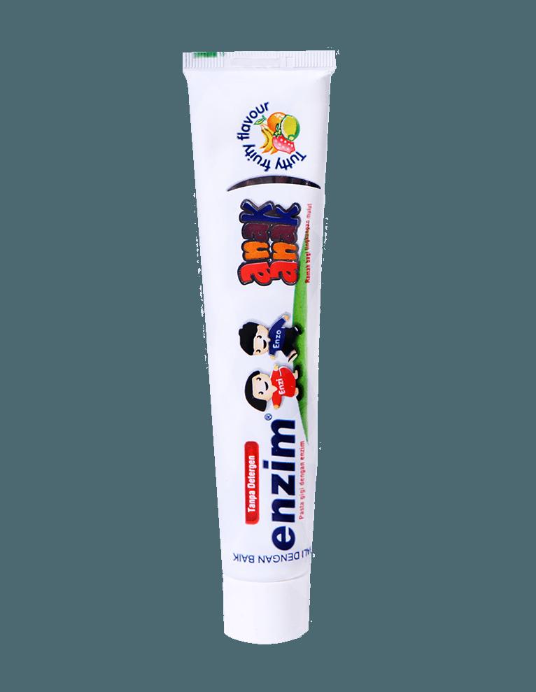 Pasta gigi enzim anak anak tutty fruity flavour